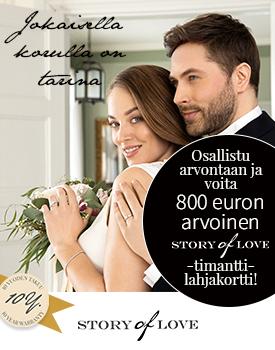 Osallistu arvontaan ja voita 800 euron timanttilahjakortti! >>