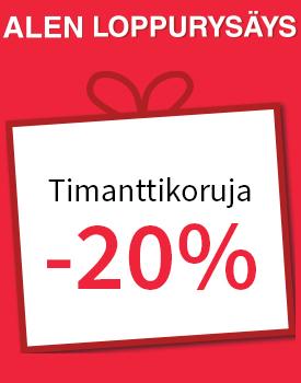Paljon timanttikoruja -20 %! Tutustu ja osta >>