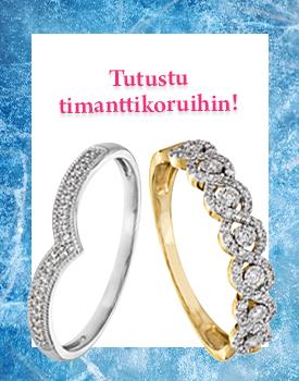 Tututstu näyttävään timanttikoru valikoimaan! Tutustu ja osta >>