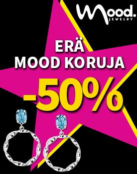 Erä Mood hopeakoruja -50 %! Tutustu ja osta! >>