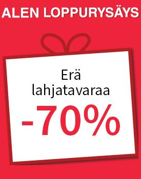 Erä lahjatavaraa -70 %! Tutustu ja osta >>