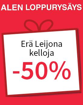 Erä Leijona kelloja -50 %! Tutustu ja osta >>
