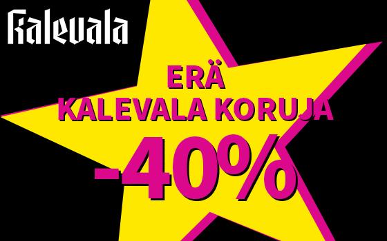 Erä Kalevala koruja -40 %! Tutustu ja osta! >>