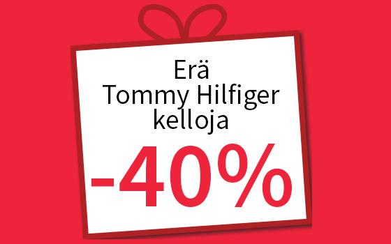 Tommy Hilfiger kelloja -40 %. Osta tästä >>