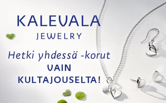 Kalevala Koru Hetki yhdessä -tuoteperhe vain Kultajousesta! Osta tästä >