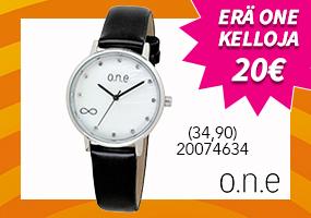 Erä o.n.e kelloja 20€! Tutustu ja osta >>