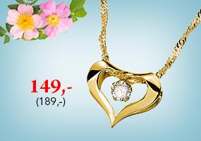 Upea kultainen kaulakoru tarjoushintaan 149,-! Tutustu ja osta >>