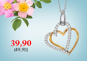 Kaunis hopeinen sydän kaulakoru nyt vain 39,90€ ! Tutustu ja osta >>