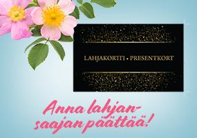 Osta Kultajousen lahjakortti ja anna lahjansaajan päättää! >>