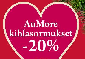 AuMore kultaiset kihlasormukset nyt -20 %! Osta omasi täältä >>