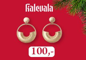 Kalevala Kaaria korvakorut ovat näyttävä lahja! Osta omasi täältä >>