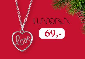 Lumoava Love riipus on ihana joululahja! Osta omasi täältä >>