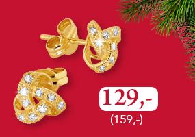 Näyttävät kultaiset korvakorut nyt vain 129,- (159,-)! Osta omasi täältä >>