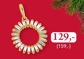 Upea kultainen riipus lahjahintaan nyt vain 129,- (145,-)! Osta omasi täältä >>