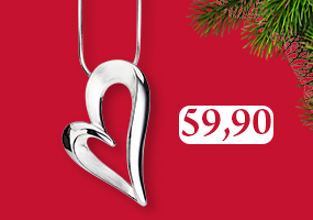 Sydänkaulakoru on joululahjojen klassikko! Osta omasi täältä >>