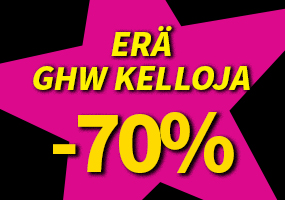 Erä laadukkaita GHW kelloja nyt -70 %! Tutustu ja osta >>