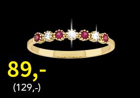 Kultainen zirkoniasormus nyt vain 89,- (129,-)! Tutustu ja osta >>