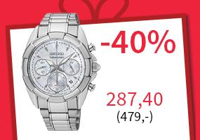 Seiko rannekello -40 %! Nyt 287,40 (479,-) Tutustu ja osta >>