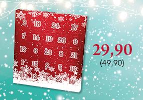 Suosittu Joulukalenteri nyt tarjoushintaan 29,90 (49,90), osta tästä >