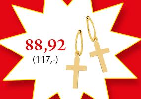 Trendikkäät risti korvakorut vain 88,92€! Tutustu ja osta >>
