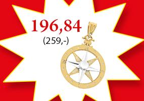 Kultainen kompassi riipus 196,84€! Tutustu ja osta >>