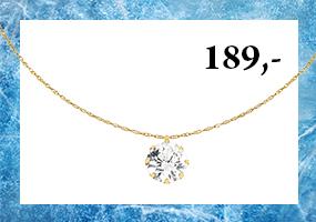 Kultainen kaulakoru zirkoniariipuksella 189,-! Tutustu & osta >>