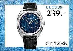 Tyylikäs Citizen automaattikello 239,-! Tutustu ja osta! >>