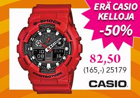 Erä Casio kelloja -50%! Tutustu ja osta >>
