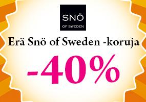 Erä SNÖ of Sweden -koruja -40%! Tutustu ja osta >>