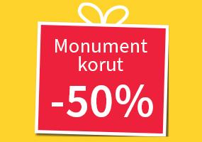 Kaikki Monument korut -50%! Tutustu ja osta! >>