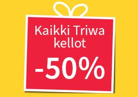 Kaikki loput Triwa kellot -50%! Tutustu ja osta >>